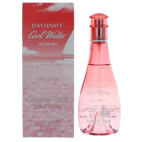 Cool Water Sea Rose Summer Seas by Davidoff 3.4 oz EDT Spray for Women - GetYourPerfume.com