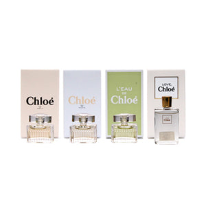 Chloe LES Parfums by Chloe 4 PCS for Women - GetYourPerfume.com