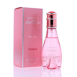 Cool Water Sea Rose by Davidoff 1.7 oz Eau de Toilette Spray for Women