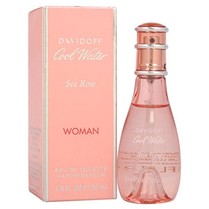 Cool Water Sea Rose by Zino Davidoff 1 oz Eau De Toilette Spray for Women