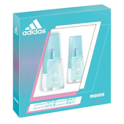 Adidas Moves 2-piece Fragrance Gift Set For Women - GetYourPerfume.com