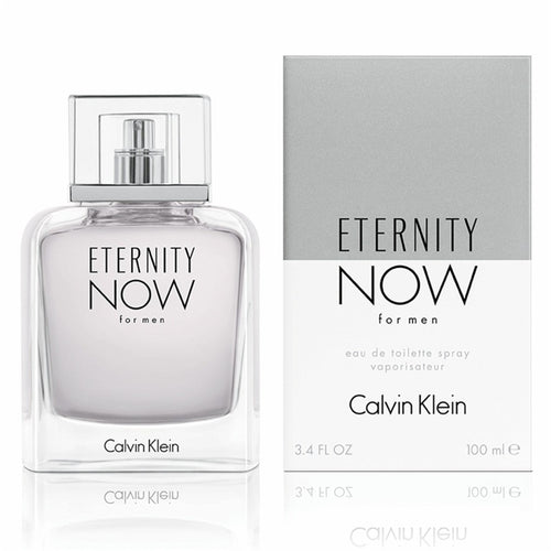 Calvin Klein Eternity Now by Calvin Klein  3.4 oz Eau de Toilette  EDT Spray for Men - GetYourPerfume.com