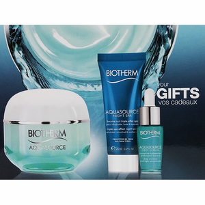 Aquasource Hydration Set by Biotherm for Unisex