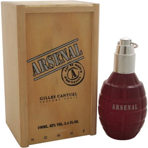 Arsenal Red by Gilles Cantuel 3.4 oz Eau de Parfum Spray for Men - GetYourPerfume.com