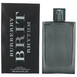 Brit Rhythm by Burberry 6 oz. Eau de Toilette Spray for Men - GetYourPerfume.com