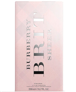Brit Sheer by Burberry 6.7 oz Eau De Toilette Spray for Women - GetYourPerfume.com