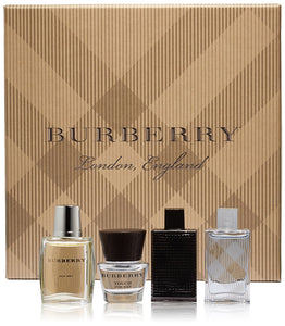 Burberry 4-Piece Mini Gift Set For Men - GetYourPerfume.com