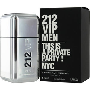 Carolina Herrera 212 VIP By Carolina Herrera 1.7 oz Eau de Toilette EDT Spray For Men
