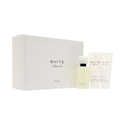White by Kenneth Cole 3 Piece Gift Set for Women