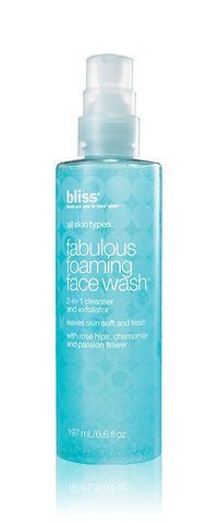 Fabulous Foaming by Bliss 6.6 oz Face Wash Unisex - GetYourPerfume.com