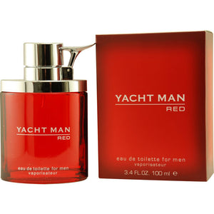 Red By Yacht man 3.4 oz Eau De Toilette Spray for Men - GetYourPerfume.com