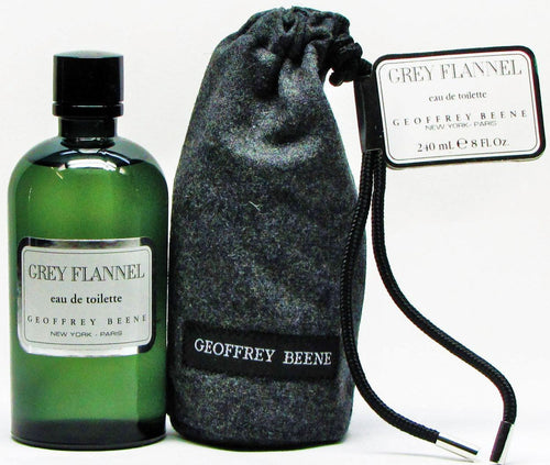 Grey Flannel by Geoffrey Beene 8.0 oz EDT SPL in Pouch for Men