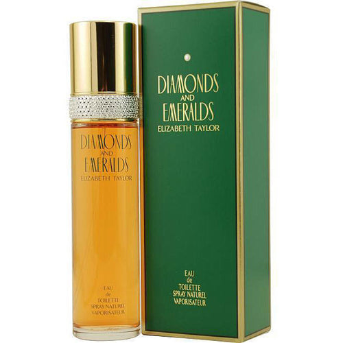 Diamonds & Emeralds by Elizabeth Taylor 1.7 oz Eau de Toilette Spray for Women - GetYourPerfume.com