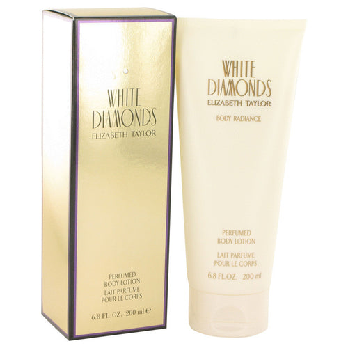 White Diamonds by Elizabeth Taylor 6.8 oz Body Lotion  for Women - GetYourPerfume.com