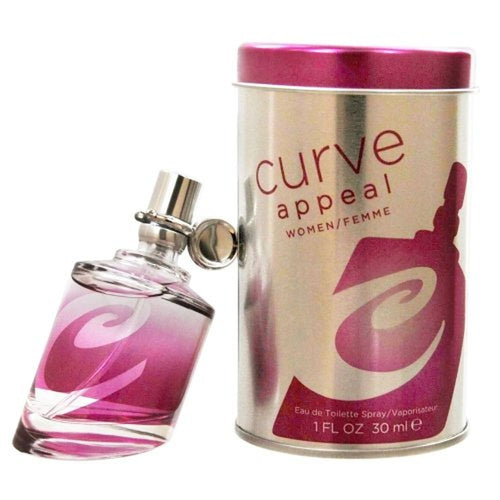 Curve Appeal by Liz Claiborne 1.0 oz Eau de Toilette Spray for Women - GetYourPerfume.com