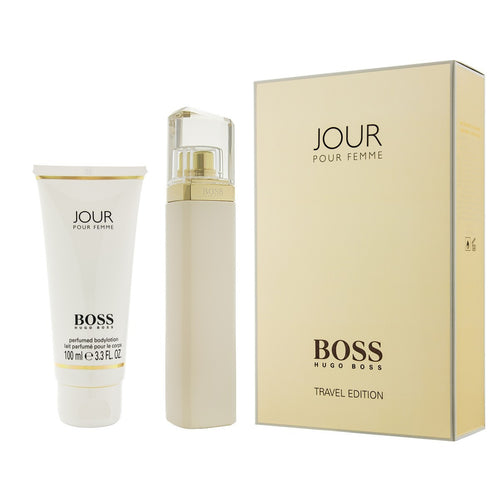 Boss Jour Pour Femme Gift Set Travel Edition Coffret by Hugo Boss for Women - GetYourPerfume.com