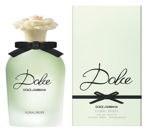Dolce Floral Drops by Dolce and Gabbana 1.7 oz Eau De Toilette EDT Spray for Women - GetYourPerfume.com