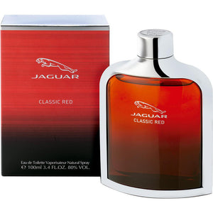 Classic Red by Jaguar 3.4 oz Eau De Toilette Spray for Men