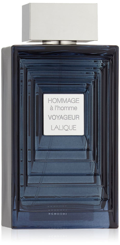 Hommage A L'Homme Voyageur by Lalique 3.3 oz EDT Spray for Men - GetYourPerfume.com