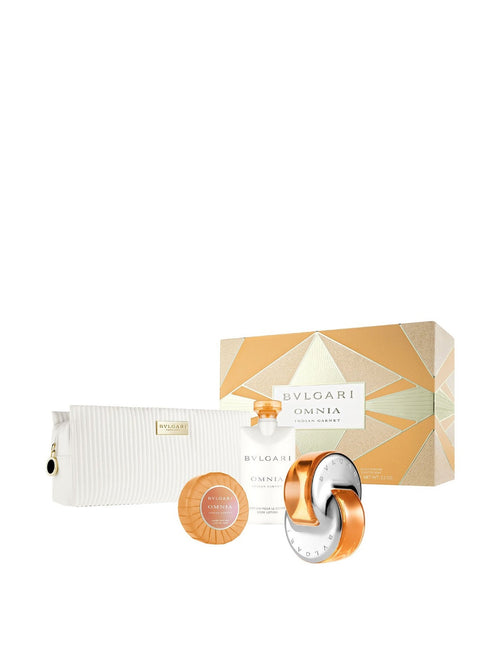 Bvlgari Omnia by Bvlgari Indian Garnet 4 pcs. Gift Set for Women - GetYourPerfume.com