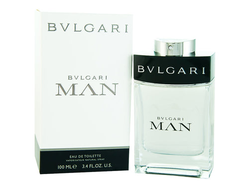 Bvlgari Man by Bvlgari 3.4 oz Eau de Toilette EDT Spray For Men - GetYourPerfume.com