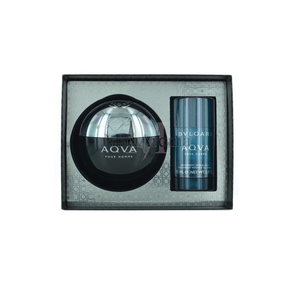 Aqua Pour Homme By Bvlgari 2-Piece Gift Set For Men - GetYourPerfume.com