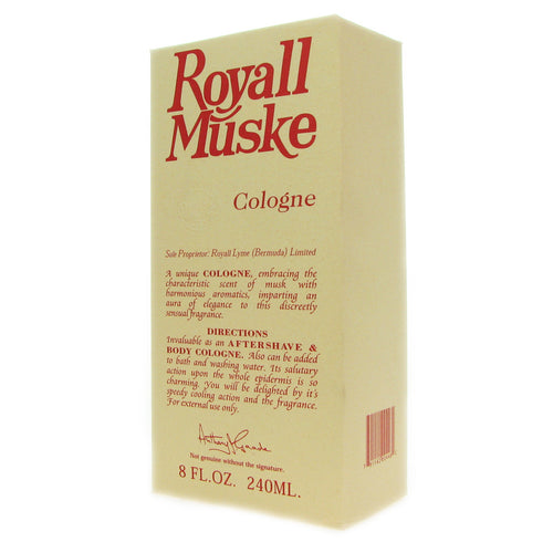 Royall Muske by Royall Fragrances 8.0 oz All Purpose Cologne for Men - GetYourPerfume.com