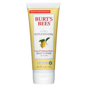 Burt's Bees Cocoa and Cupua Butters by Burt's Bees 6.0 oz Richly Replenishing Body Lotion for Unisex - GetYourPerfume.com