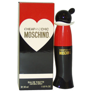 Cheap & Chic by Moschino 1.0 oz Eau De Toilette Natural Spray for Women - GetYourPerfume.com