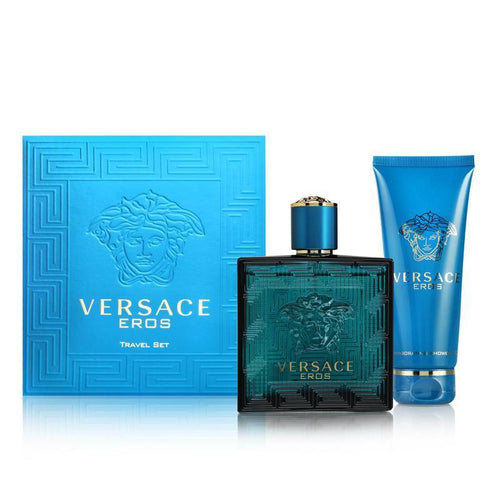 Versace Eros By Versace 2 Piece Gift Set for Men