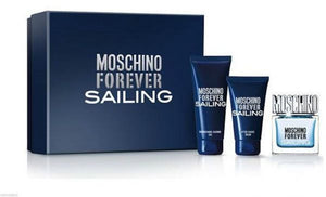 Forever Sailing by Moschino 3Pcs. Gift Set for Men - GetYourPerfume.com