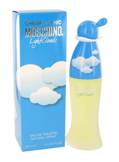 Cheap & Chic Light Clouds by Moschino 3.4 oz Eau de Toilette Spray for Women - GetYourPerfume.com