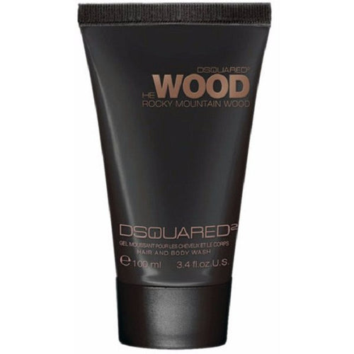 DSquared2 He Wood Rocky Mountain Hair & Body Wash 3.4 oz for Men - GetYourPerfume.com