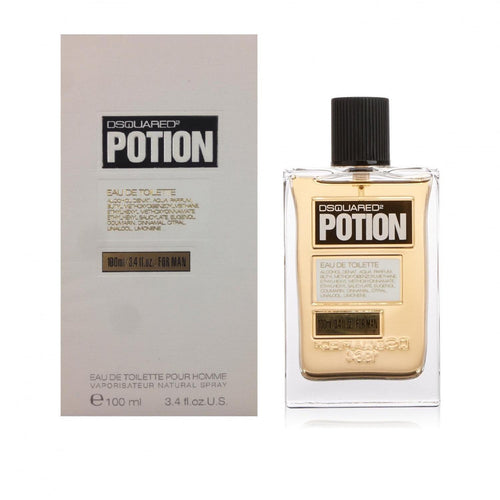 Dsquared2 Potion by Dsquared2 3.4 oz Eau de Toilette Spray for Men - GetYourPerfume.com