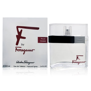 F by Salvatore Ferragamo 3.4 oz Eau de Toilette Spray for Men - GetYourPerfume.com