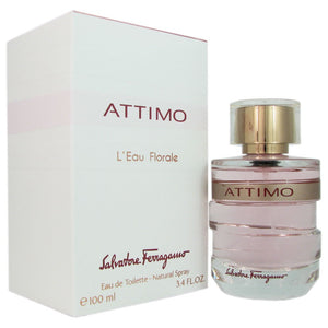 Attimo L'eau Florale by Salvatore Ferragamo 3.4 oz Eau de Toilette Spray for Women - GetYourPerfume.com