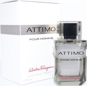 Attimo Pour Homme by Salvatore Ferragamo 3.4 oz Eau de Toilette Spray For Men - GetYourPerfume.com