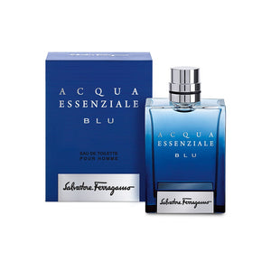 Acqua Essenziale Blu by Salvatore Ferragamo 3.4 oz Eau de Toilette Spray For Men - GetYourPerfume.com