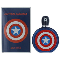 Captain America by Marvel 3.4 oz Eau De Toilette Spray for Men - GetYourPerfume.com