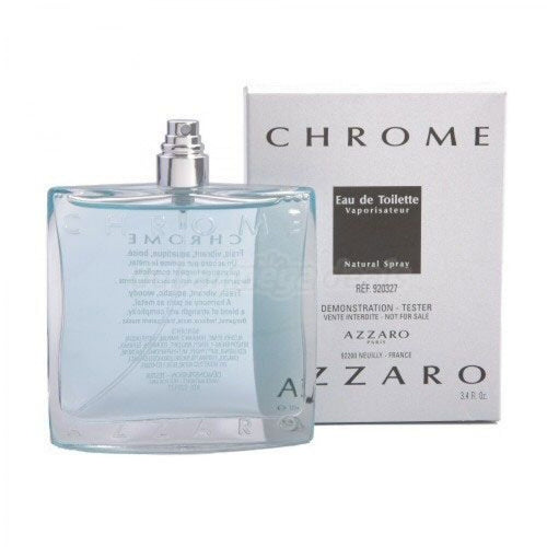 Chrome United by Azzaro 3.4 oz Eau de Toilette Spray for Men (Tester) - GetYourPerfume.com