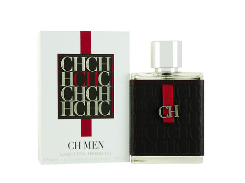 CH Men by Carolina Herrera 3.4 oz Eau de Toilette Spray for Men