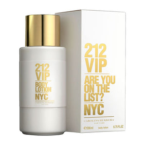 212 VIP by Carolina Herrera 6.75 oz Body Lotion for Women