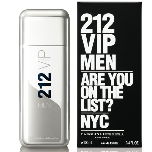 Carolina Herrera 212 VIP NYC by Carolina Herrera 3.4 oz Eau de Toilette EDT Spray  for Men