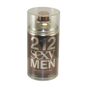212 Sexy Men by Carolina Herrera 8.5 oz Body Spray for Men