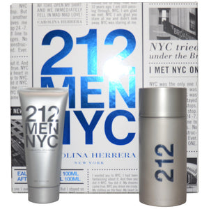 212 Nyc by Carolina Herrera 2-Piece Gift Set for Men - GetYourPerfume.com