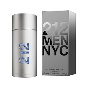 212 by Carolina Herrera 3.4 oz EDT SP FOR MEN
