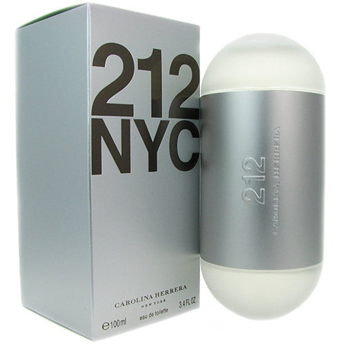 212 NYC by Carolina Herrera 3.4 oz Eau De Toilette Spray for Women - GetYourPerfume.com