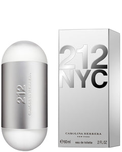 212 NYC by Carolina Herrera Eau De Toilette Spray 2.0 Oz for Women