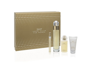 360 by Perry Ellis 4 Piece Gift Set for Women - GetYourPerfume.com