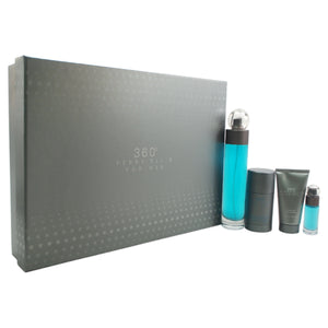360 by Perry Ellis 4 Piece Gift Set for Men - GetYourPerfume.com